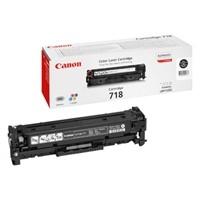 Original Canon 718BK Black Toner Cartridge (2662B002AA)