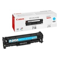 Original Canon 718C Cyan Toner Cartridge (2661B002AA)