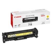Original Canon 718Y Yellow Toner Cartridge  (2659B002AA)