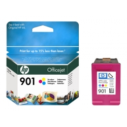 Original HP 901 Colour Ink cartridge (CC656ae)