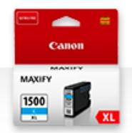 Canon Original PGI-1500XLC Cyan Ink Cartridge (9193B001AA)