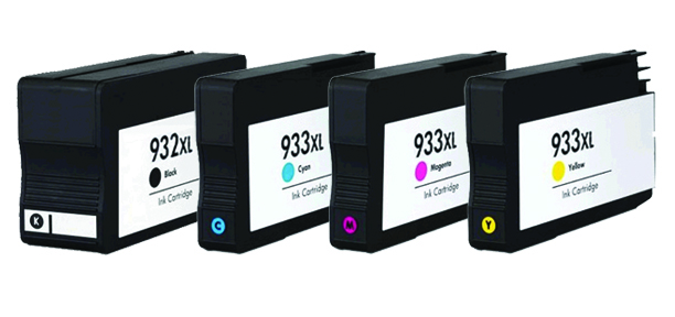 Compatible HP 932XL/933XL a set of 4 Ink Cartridges Black/Cyan/Magenta/Yellow