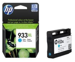 Original HP 933XL Cyan High Ink cartridge High Capacity  (CN054AE)