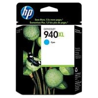 Original HP 940XL Cyan Ink cartridge  (C4907AE) High Capacity