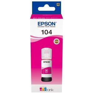 Epson Original 104 Magenta Ecotank Ink Bottle - (C13T00P340)