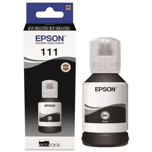 Epson Original 111 Black Ink Bottle - (C13T03M140)