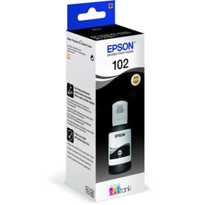Epson Original 102 Black Ecotank Ink Bottle - (C13T03R140)
