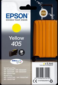Original Epson 405 Yellow Ink Cartridge C13T05G44010
