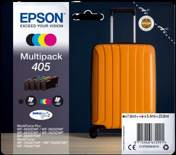 Original Epson 405 Ink Cartridge Multipack (Black/Cyan/Magenta/Yellow)