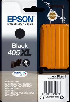 Original Epson 405XL Black High Capacity Ink Cartridge C13T05H14010