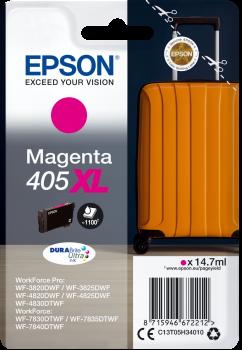 Original Epson 405XL Magenta High Capacity Ink Cartridge C13T05H34010