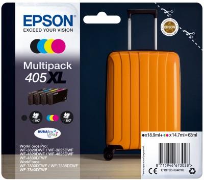 Original Epson 405XL High Capacity Ink Cartridge Multipack (Black/Cyan/Magenta/Yellow)