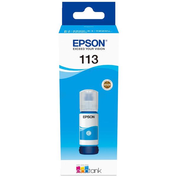 Epson Original 113 Cyan Ink Bottle C13T06B240