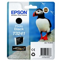 Epson Original T3241 Photo Black Inkjet Cartridge - (C13T32414010)