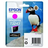Epson Original T3243 Magenta Inkjet Cartridge - (C13T32434010)