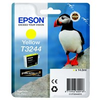 Epson Original T3244 Yellow Inkjet Cartridge - (C13T32444010)