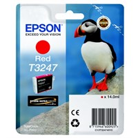 Epson Original T3247 Red Inkjet Cartridge - (C13T32474010)
