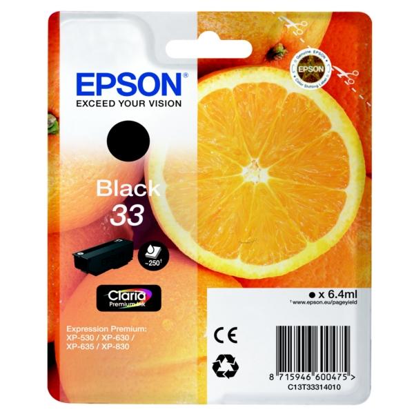 Original Epson 33 Black Ink Cartridge (T3331)