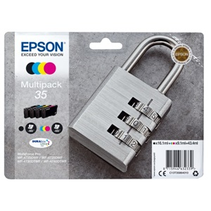 Original Epson 35 Inkjet Cartridge 4 Colour Multipack - (C13T35864010)