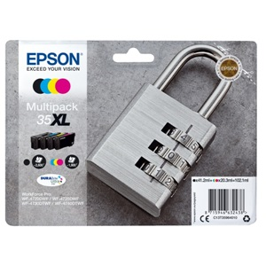 Epson Original 35XL High Capacity 4 Colour Inkjet Cartridge Multipack - (C13T35964010)