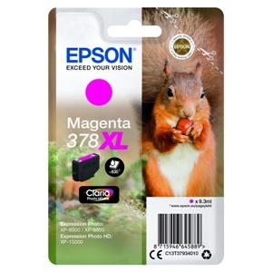 Epson Original 378XL Magenta High Capacity Inkjet Cartridge - (C13T37934010)