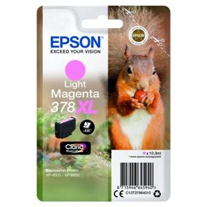 Epson Original 378XL Light Magenta High Capacity Inkjet Cartridge - (C13T37964010)