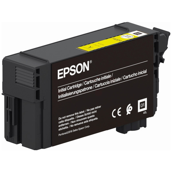 Epson Original T40D4 Yellow Inkjet Cartridge C13T40D440