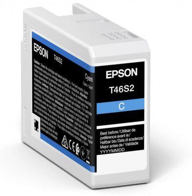 Epson Original T46S2 Cyan Inkjet Cartridge C13T46S200