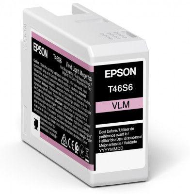 Epson Original T46S6 Light Magenta Inkjet Cartridge C13T46S600
