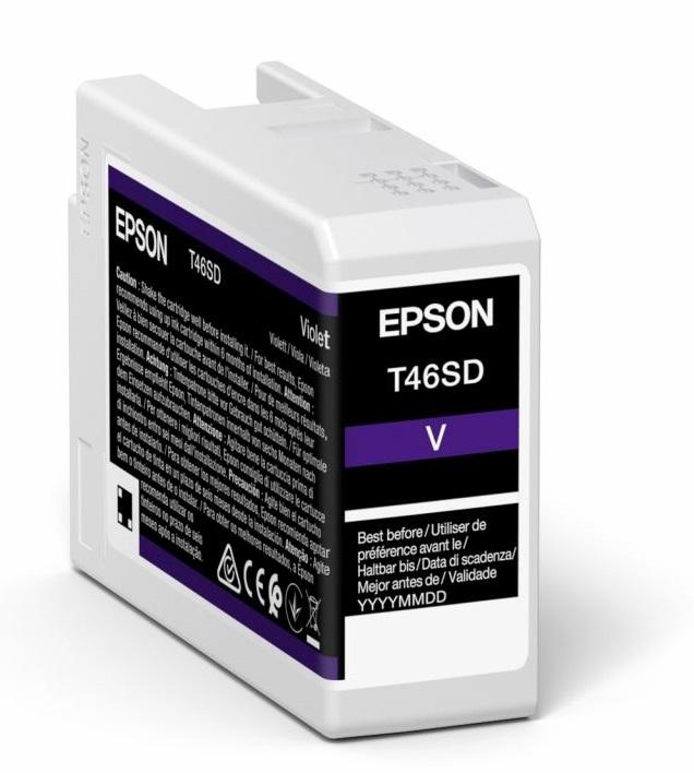Epson Original T46SD Violet Inkjet Cartridge C13T46SD00