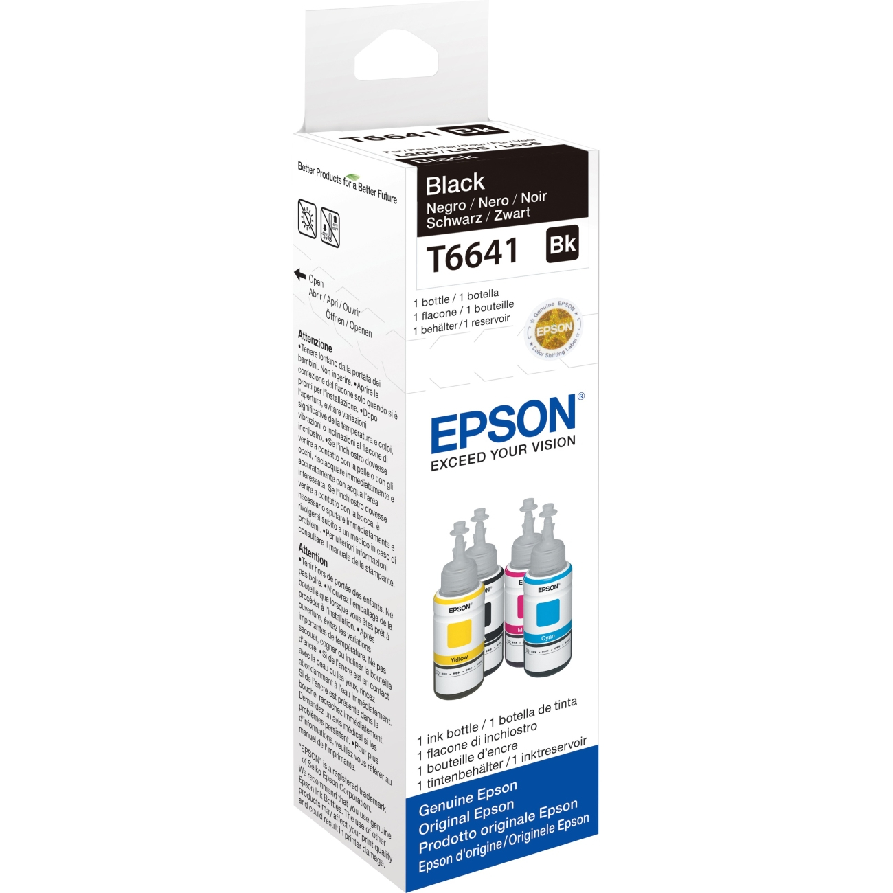 Original Epson T6641 Black Ink Bottle