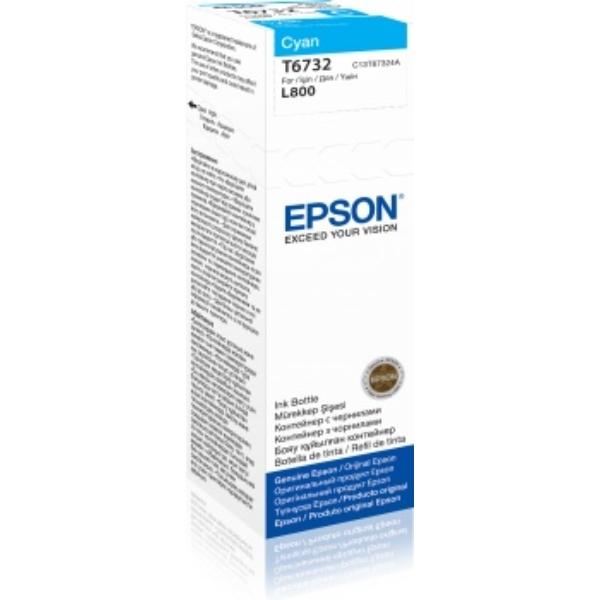 Epson Original T6732 Cyan Ink Bottle C13T67324A