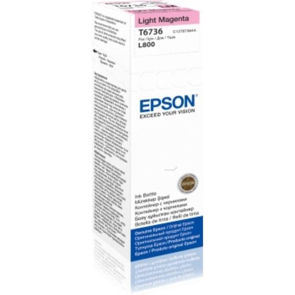 Epson Original T6736 Light Magenta Ink Bottle C13T67364A