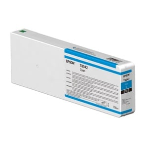 Epson Original T8042 Cyan Inkjet Cartridge - (C13T804200)
