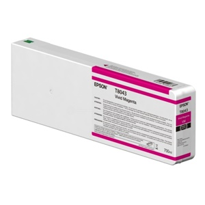 Epson Original T8043 Magenta Inkjet Cartridge - (C13T804300)