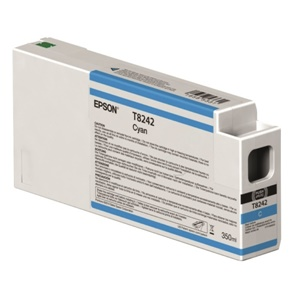 Epson Original T8242 Cyan Inkjet Cartridge - (C13T824200)