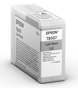 Epson Original T8507 Light Black Inkjet Cartridge - (C13T850700)