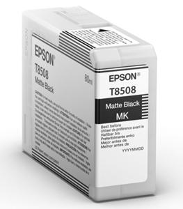 Epson Original T8508 Matt Black Inkjet Cartridge - (C13T850800)