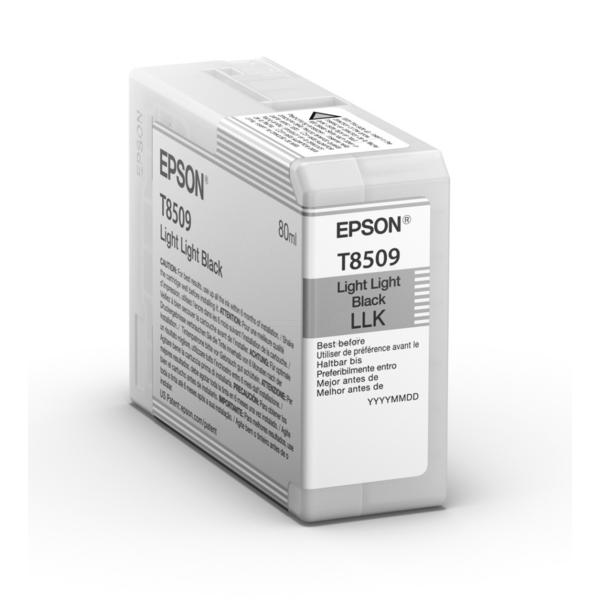 Epson Original T8509 Light Light Black Inkjet Cartridge - (C13T850900)