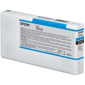 Epson Original T9132 Cyan Inkjet Cartridge - (C13T913200)