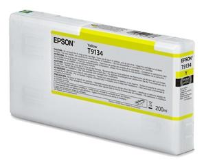 Epson Original T9134 Yellow Inkjet Cartridge - (C13T913400)