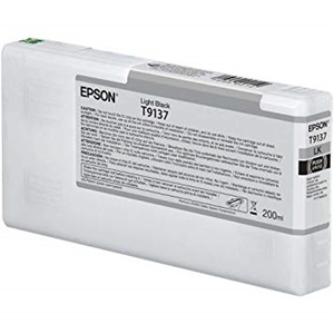 Epson Original T9137 Light Black Inkjet Cartridge - (C13T913700)