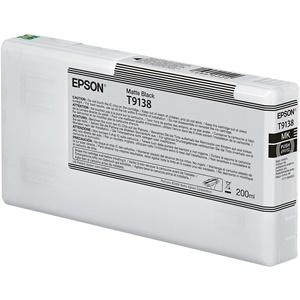 Epson Original T9138 Matt Black Inkjet Cartridge - (C13T913800)