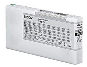 Epson Original T9139 Light Light Black Inkjet Cartridge - (C13T913900)