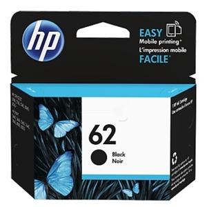 HP Original 62 Black Ink cartridge (C2P04AE)