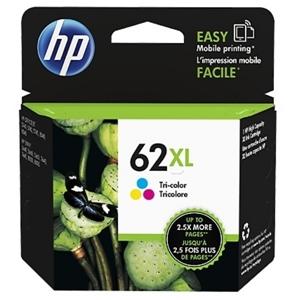 HP Original 62XL Tri Colour Ink cartridge (C2P07AE)