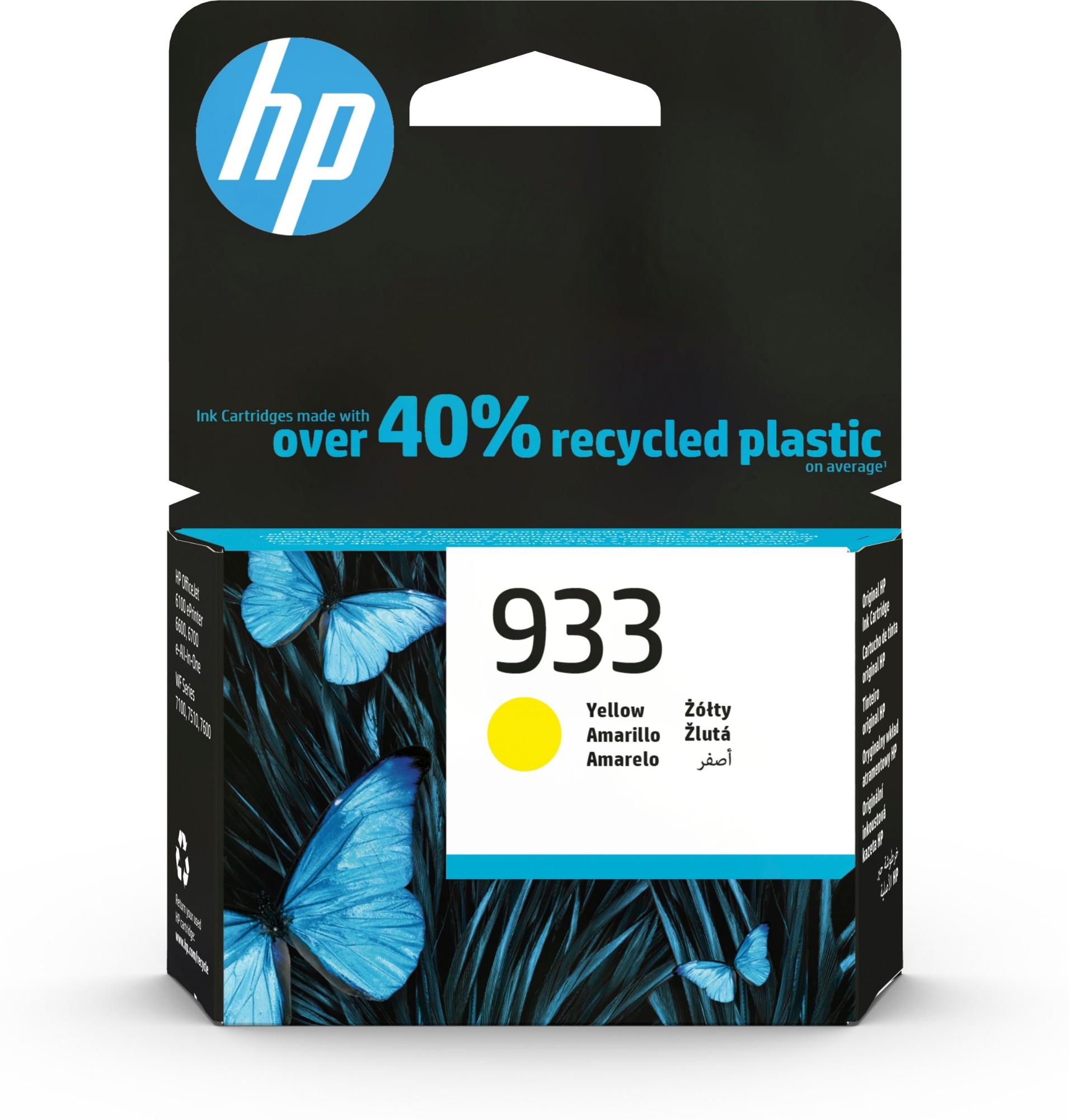 Original HP 933 Yellow Ink Cartridge CN060AE