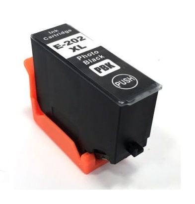 Compatible Epson 202XL Photo Black Ink Cartridge High Capacity (T02H1)
