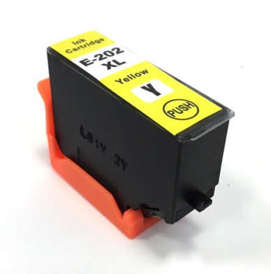 Compatible Epson 202XL Yellow Ink Cartridge High Capacity (T02H4)