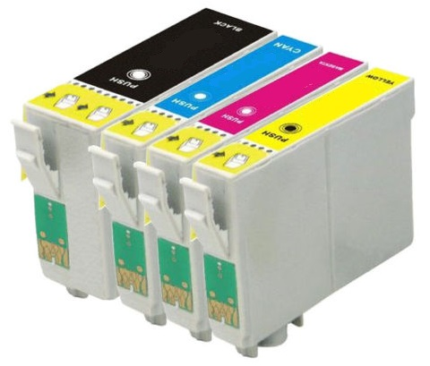 Compatible Epson 35XL a Set of 4 Ink Cartridges High Capacity T3591/T3592/T3593/T3594